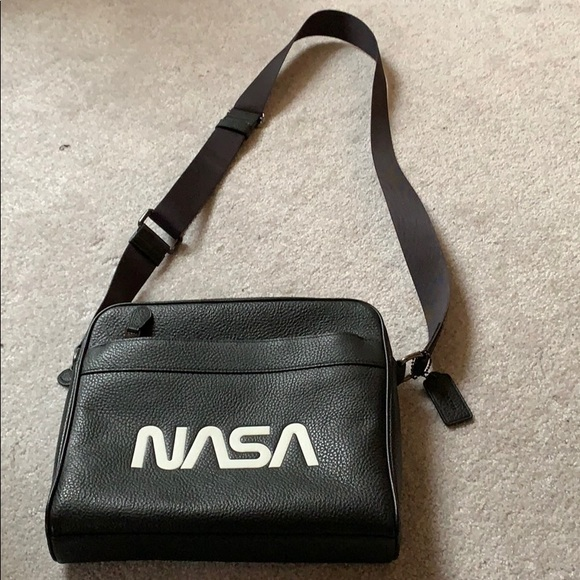 e43142ef0c39 COACH Charles camera space NASA leather bag